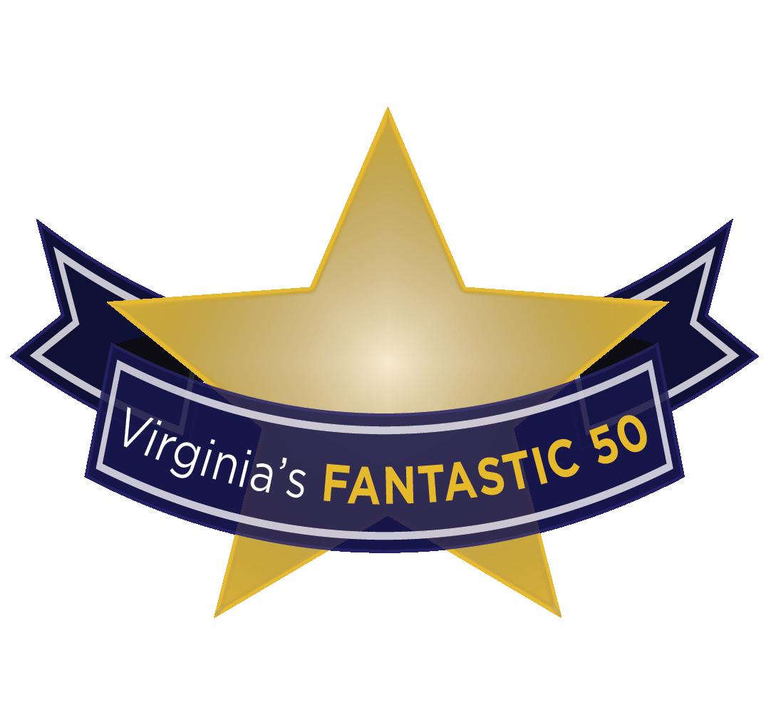 Virginia's Fantastic 50 award logo