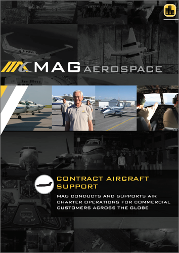Contract Aircraft Support Commercial Manual Cover