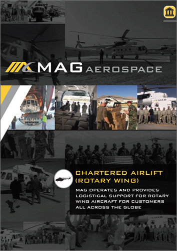 Chartered Airlift Rotary Wing - Federal Manual Cover
