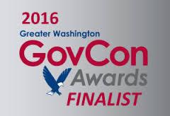 2016 GovCon Awards Finalist Logo
