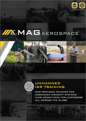 Unmanned ISR Training Federal/International Manual Cover
