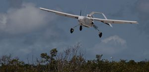 Unmanned ISR flying on a training run