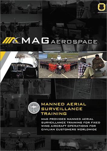 Manned Aerial Surveillance Training Civilian Manual Cover