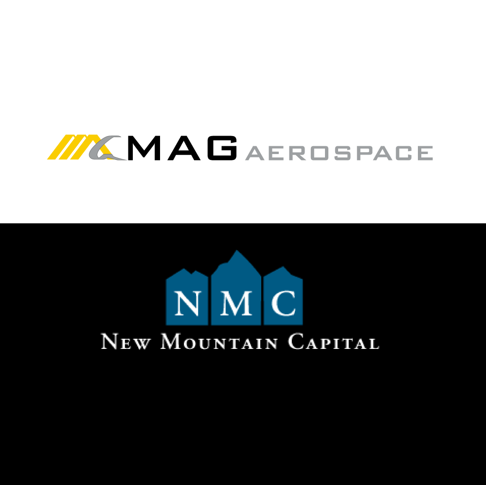 MAG Aerospace and New Mountain Capital Logos