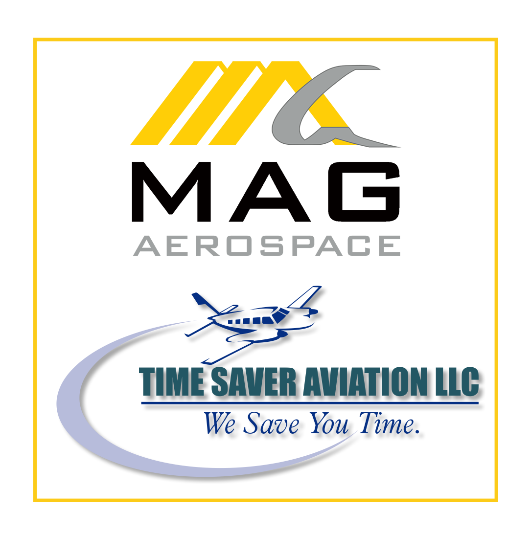 Time Saver Aviation LLC and MAG Aerospace Logos